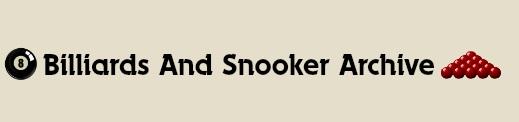 Billiards & Snooker Archive